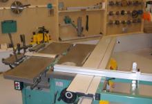 Machine à bois combinée de menuiserie