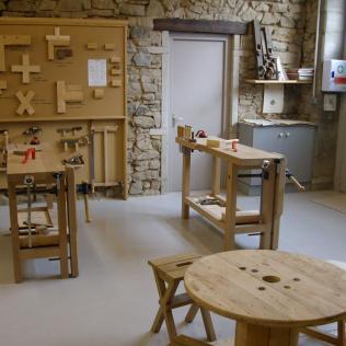 Atelier des Moulins - Weekend Menuiserie Manuelle